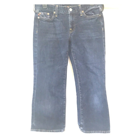 J. Crew Denim - J.Crew Hipslung Cropped Jeans